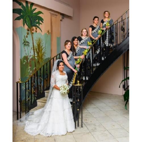 Bridesmaids sarees, US