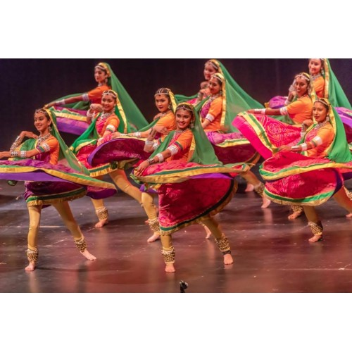 Kathak costumes for dance institute, US