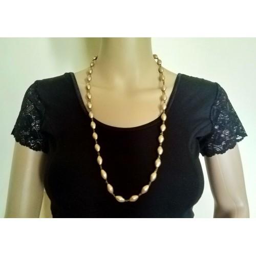 Lightweight dholki beads strand